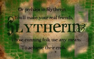 Slytherin collage by Dhesia