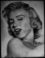 Marilyn Monroe by fabriceg