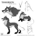 Tharsirion Sketches by TaniDaReal