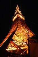 Tokyo Tower 2 by Delaney02