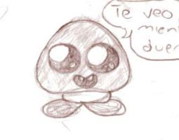 Goomba Te veo mientras duermes. by PichLechuga