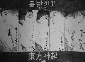 DBSK/TVXQ by Vivi--Art