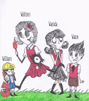 Don't Starve Kids by JackXAngelicaforever