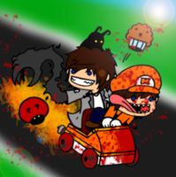 RQ-TONIGHT, WE KART, IN HELL by Onslaught14