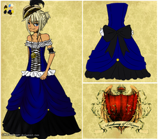 Ivory's Winterball gown by LittleTreeHugger