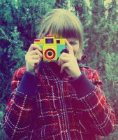 olga with holga by Pink--Fish