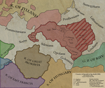 Duchy of Poland 6 years after baptize by Sevgart