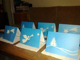 My Christmas Cards by Metalliana