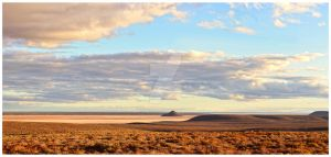 Australian Outback Panorama by waitfortheblackout