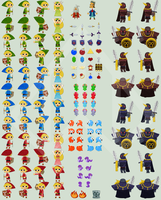 Eternal Dungeon - Sprite Sheet by Nelde