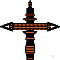 Cross 1 Halloween Stock by BL8antBand