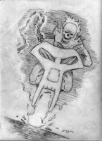 Sketch: Ghost Rider by JasonShoemaker