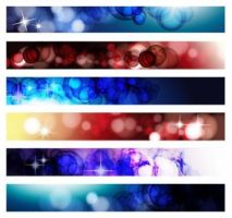 Abstract Banner Vector by blitherjust