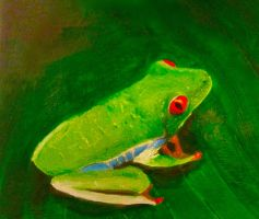 Rainforest Frog by Mau-Ve