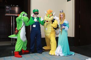 Bowser Cosplay - Anime Boston 2012 - 3 by destinyhunter86