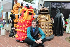 Balloon Dalek and Me by NoOrdinaryBalloonMan