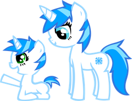 snowfrost and flake by KillerBeen