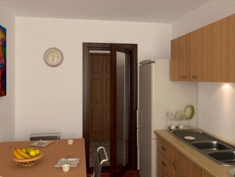 apartment 1 kitchen by danny3man