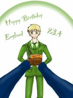 APH- England Happy Birthday 23.4 by xXJustForFunXx