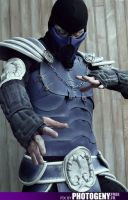 mortal kombat sub zero by Heartofdevil-cosplay
