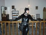 Catwoman in the bedroom by CatwomanofTheSouth
