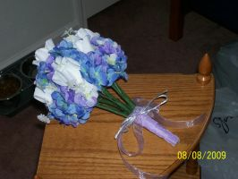 Matron of Honor's Bouquet by Joce-in-Stitches