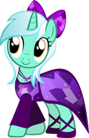Lyra Heartstring's Dress by TheShadowStone