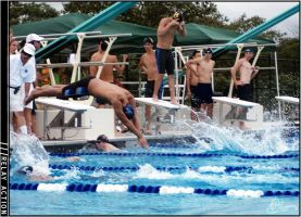 Swimming - Relay Action by clashed
