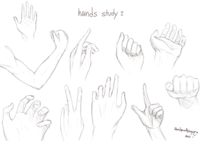 Hands Study by TheDamn-ThinGuy