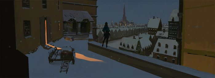 Winter Town by Gunzfree