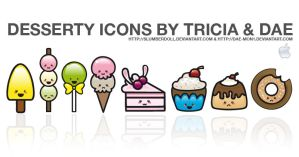 Desserty Icons for Mac by dae-mon1