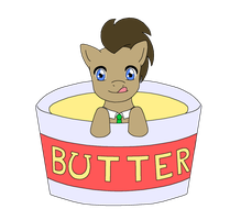 Doctor in a Tub of Butter by WinxC1ub