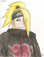 Deidara colored? omg... by Addictivemind