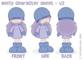 Neffy character sheet - V2 by nef