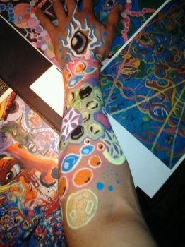 Body paint by 11dredg11