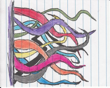 Color: Tangles by HanselTheLost