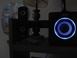 My new stereo by AStolenRelic