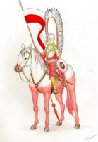 White/Red Hussar by GosieXvelLipa