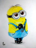 MINION by lettherebeart