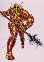 Red Guardian II by vermithrax40