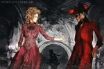 Red Death and Muse by operaghost