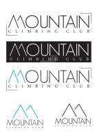 mountain logo by AleksandarN