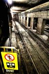 Subway Tunnel:  Danger by basseca