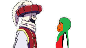 Turkey And Female Palestine by sweetbaby500