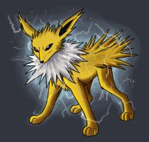 Jolteon - Electrical Energy by Vampynella