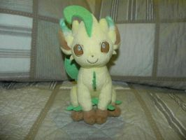 My Pokemon Plushie Collection - Leafeon by Megalomaniacaly