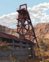 Color Render of Old Mine by shawndriscoll