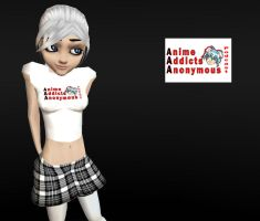 IMVU AAA Podcast T-shirt Fem by elvenbladerogue