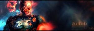 Zombie Cpt America Signature by ericlesk