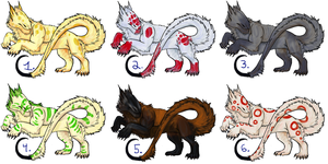 Dire Adopts Round Two! OPEN by Shinedriger